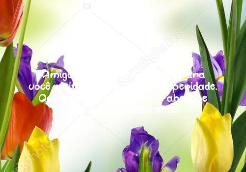Amigo, parabéns! Eu desejo para você muita paz, saúde e prosperidade. Que o nosso lindo Deus te abençoe e te ilumine ricamente!