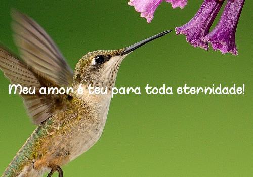 Meu amor é teu para toda eternidade!